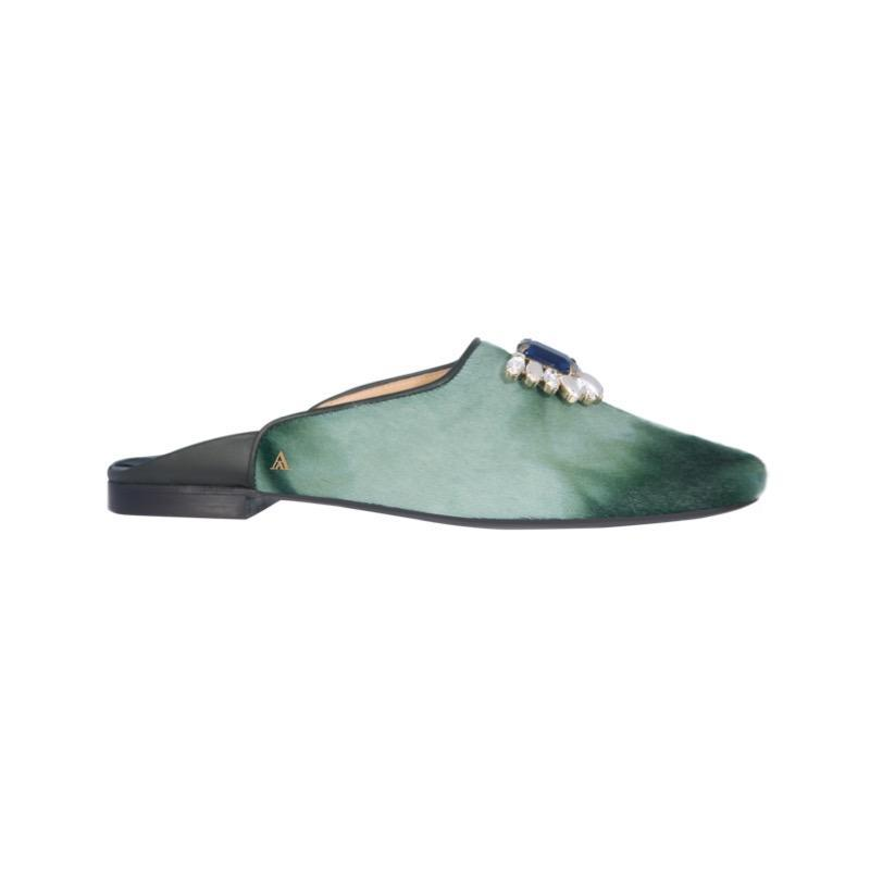 SAANAH | Slippers Odette Deluxe Pony Tie and Dye