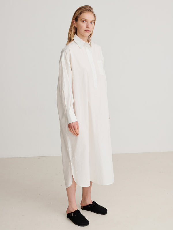 Skall Studio Edgar Shirtdress Dress Vanilla