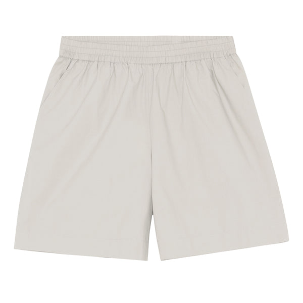 Skall Studio Poet Shorts Shorts Light Grey