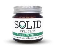 Solid Oral Care Toothpaste