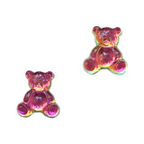 Teddy Gummy Bear Flatback Resin / Vitrail Medium Nail Art Decors