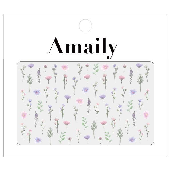 Daily Charme Nail Art Supply Amaily Japanese Nail Art Sticker / Flower Garden / Pastel