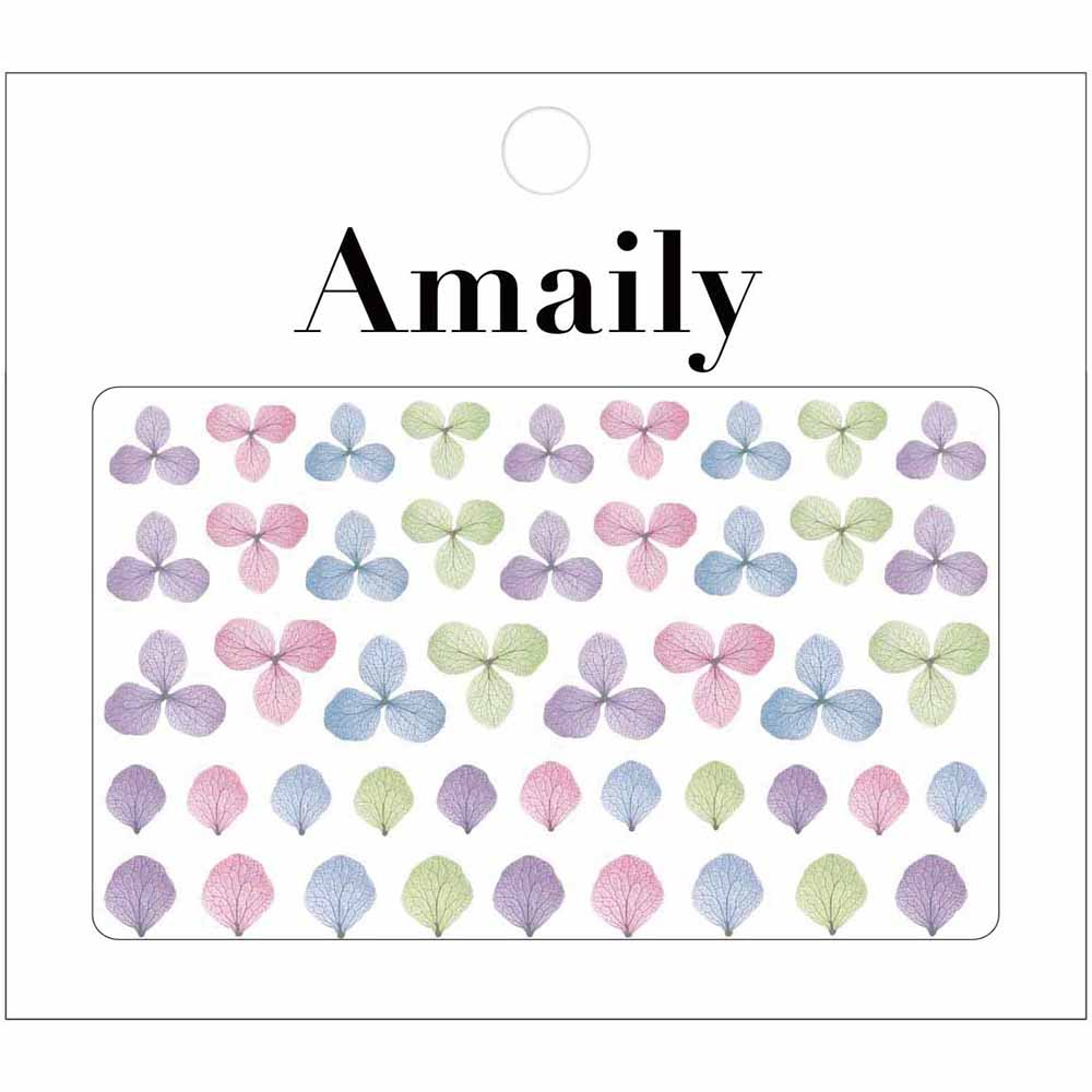 Amaily Japanese Nail Art Sticker / Hydrangea Spring Flower Nails