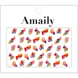 Daily Charme Amaily Japanese Nail Art Sticker / Ink Art Marble Nails