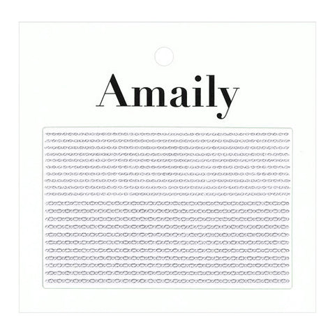 Daily Charme Nail Art Supply Amaily Japanese Nail Art Sticker / Chains / Silver