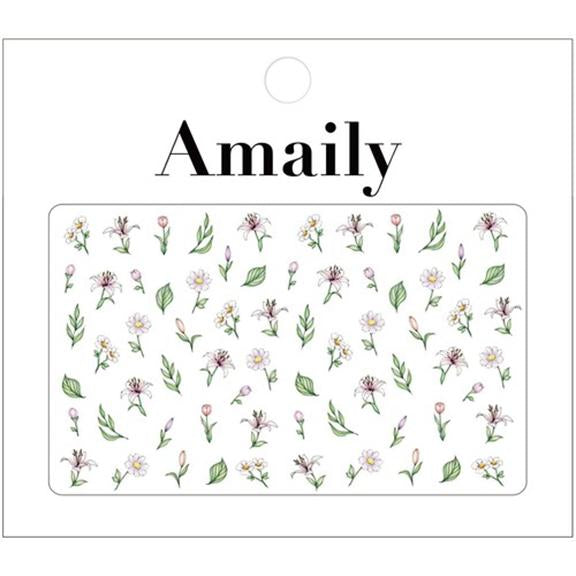 Daily Charme Nail Art Supply Amaily Japanese Nail Art Sticker / Botanicals