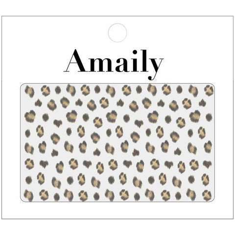 Amaily Japanese Nail Art Sticker / Leopard Prints