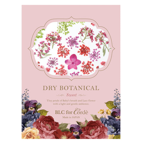 BLC FOR CORDE / DRY BOTANICAL / SWEET Flower Nail Art