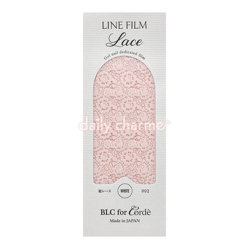 BLC for CORDE / Line Film / Lace 2 / White – Daily Charme