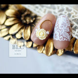 BLC for CORDE / Line Film / Lace 2 / White Japanese Nail Art Supply