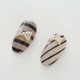 BLC for CORDE / Line Film / Opaque Black / 0.8mm Japanese Nail Art Decoration Daily Charme Nail Supply