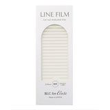 BLC for CORDE / Line Film / Opaque White / 2mm Japanese Nail Art Decoration Daily Charme Nail Supply