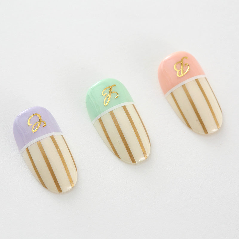 BLC for CORDE / Line Film / Opaque Gold / 0.8mm Japanese Nail Art Decoration Daily Charme Nail Supply