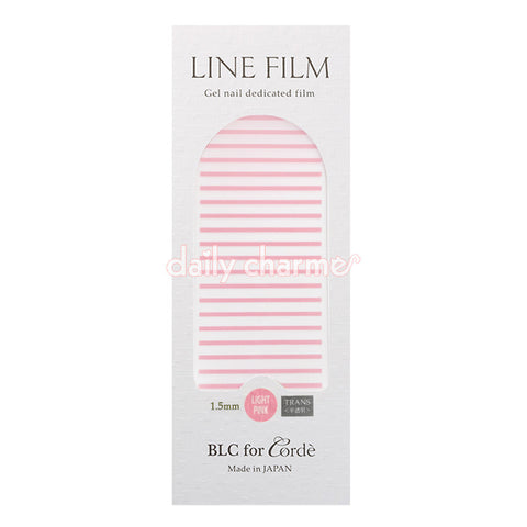 BLC for CORDE / Line Film / Translucent Light Pink / 1.5mm