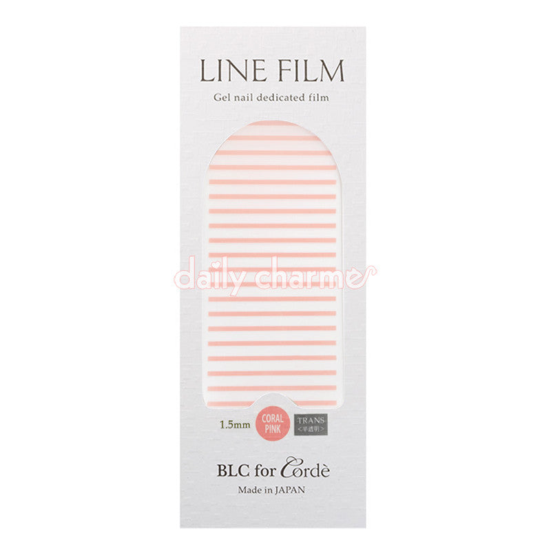 BLC for CORDE / Line Film / Translucent Coral Pink / 1.5mm