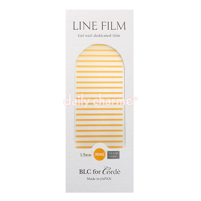 BLC for CORDE / Line Film / Translucent Orange / 1.5mm