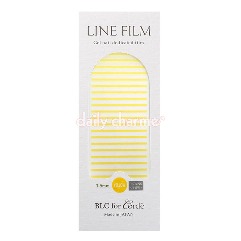 BLC for CORDE / Line Film / Translucent Yellow / 1.5mm