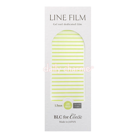 BLC for CORDE / Line Film / Translucent Lime Green / 1.5mm