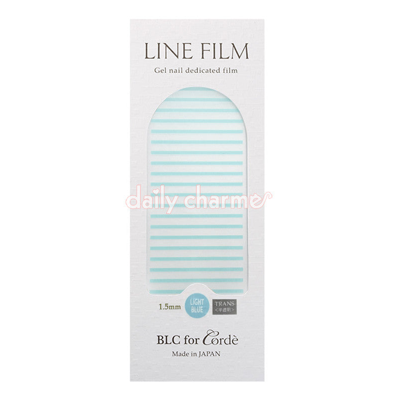 BLC for CORDE / Line Film / Translucent Light Blue / 1.5mm