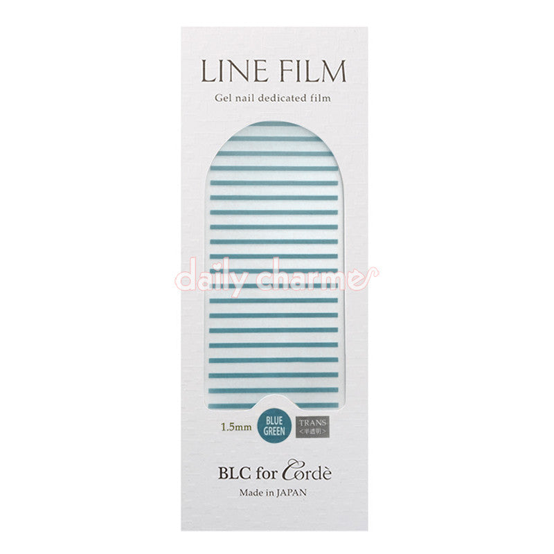 BLC for CORDE / Line Film / Translucent Blue Green / 1.5mm