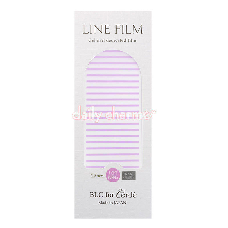 BLC for CORDE / Line Film / Translucent Light Purple / 1.5mm