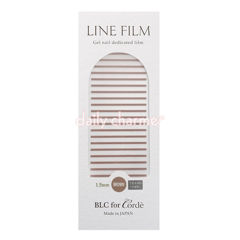 BLC for CORDE / Line Film / Translucent Brown / 1.5mm