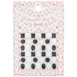 Daily Charme Japanese Nail Art Supply PIEADRA X BLC Japanese Nail Art Sticker / Flower Lace