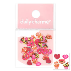Daily Charme Valentine Soft Paper Glitter / Sweet Tooth Dessert Nails