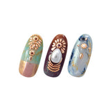 Daily Charme Japanese Nail Art Capri Twist Bar / Rose Gold