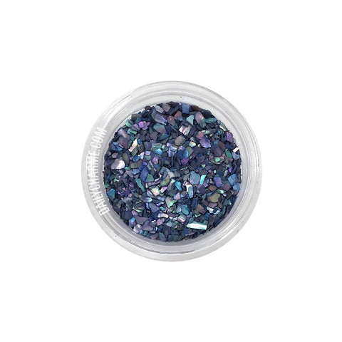 Capri Crushed Shell / Blue Japanese Nail Art Decorations