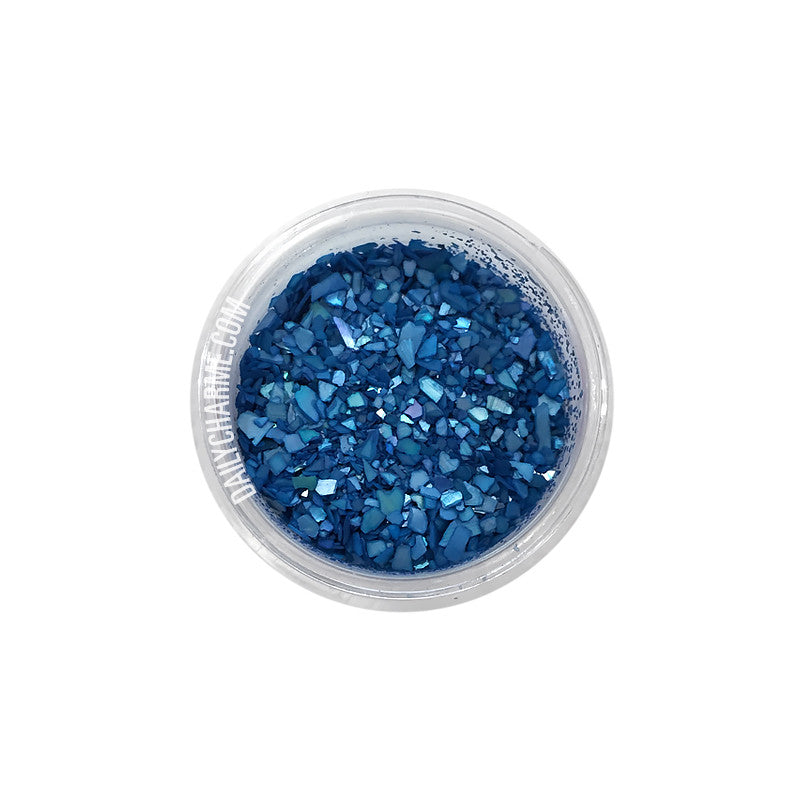 Capri Crushed Shell / Ocean Blue Japanese Nail Art Decorations