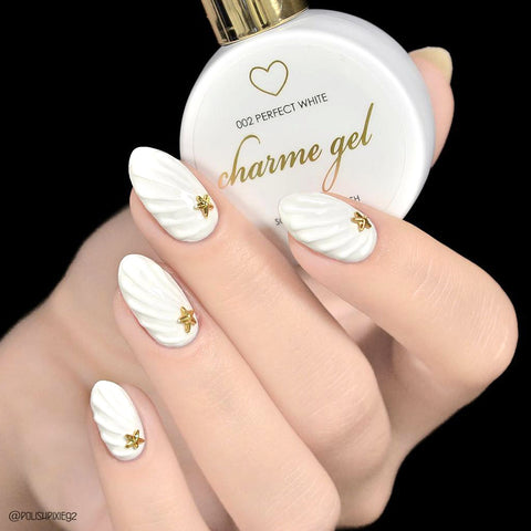 Charme Gel Polish / 002 Perfect White