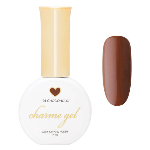 Charme Gel Polish / 101 Chocoholic