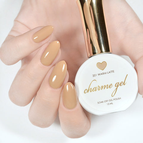 Charme Gel Polish / 201 Warm Latte