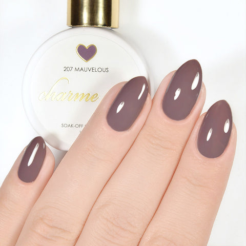 Charme Gel Polish / 207 Mauvelous Mauve Neutral