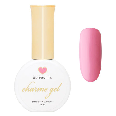 Charme Gel Polish / 302 Pinkaholic Perfect Pink