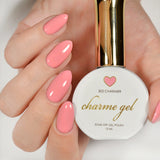 Charme Gel Polish / 303 Charmer Coral Pink Nail Color