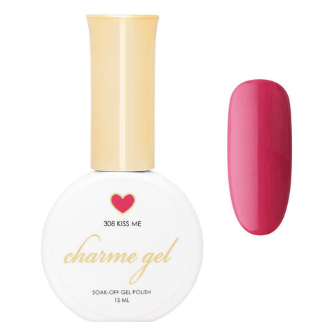 Charme Gel Polish / 308 Kiss Me