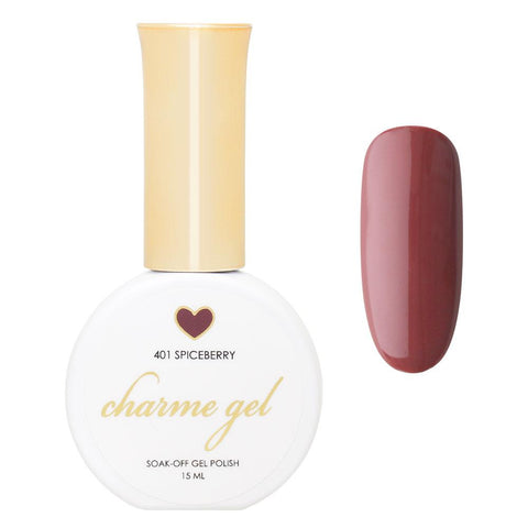 Charme Gel Polish / 401 Spiceberry