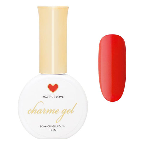 Charme Gel Polish / 403 True Love Classy Red