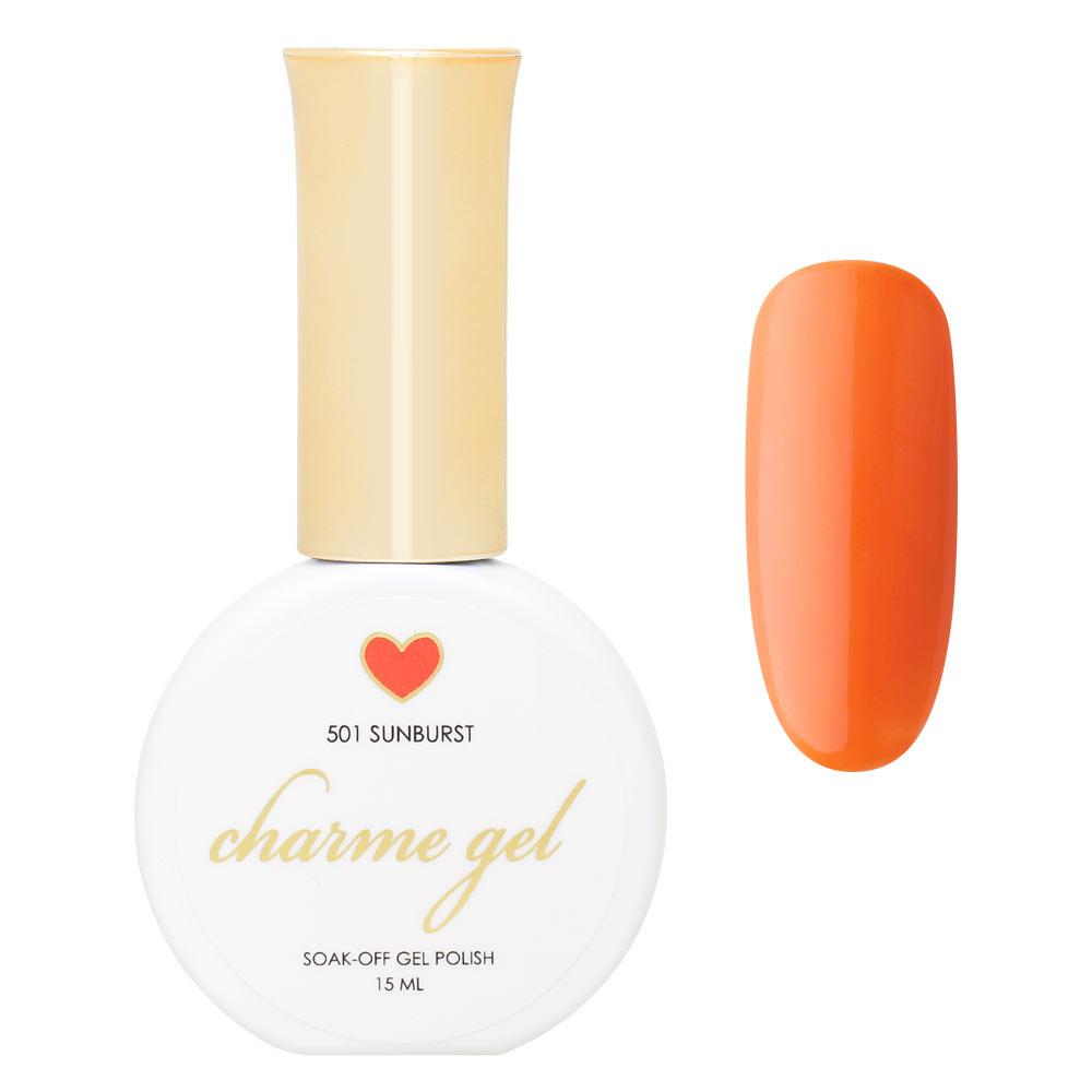Charme Gel Polish / 501 Sunburst