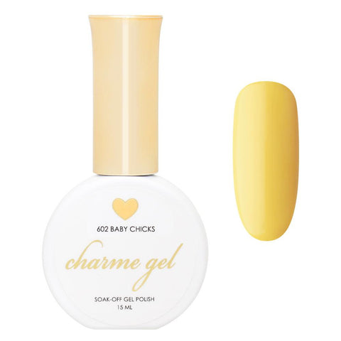 Charme Gel Polish / 602 Baby Chicks