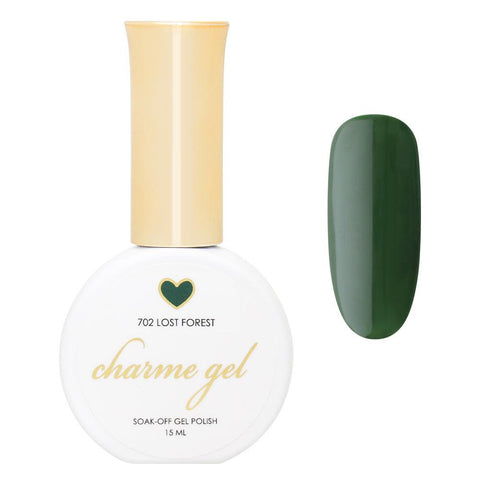 Charme Gel Polish / 702 Lost Forest Fall Winter Hunter Green