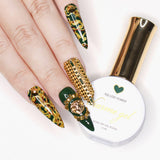 Charme Gel Polish / 702 Lost Forest Fall Winter Hunter Green Versace Inspired