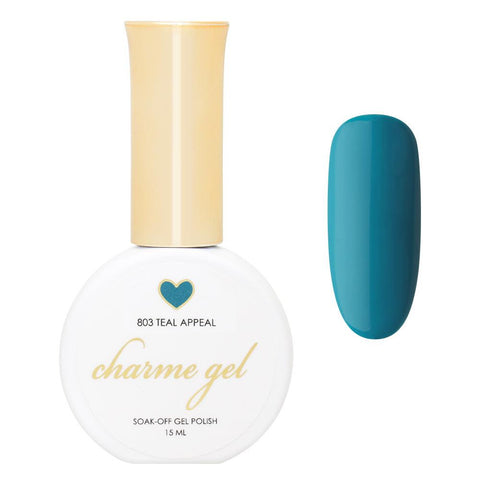 Charme Gel Polish / 803 Teal Appeal