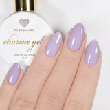 Charme Gel Polish / 901 Enchanted Pastel Purple