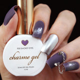 Charme Gel Polish / 905 Smokey Eyes Dark Purple