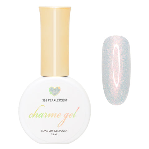 Charme Gel / Shimmer S82 Pearlescent Unichrome Iridescent Shimmer