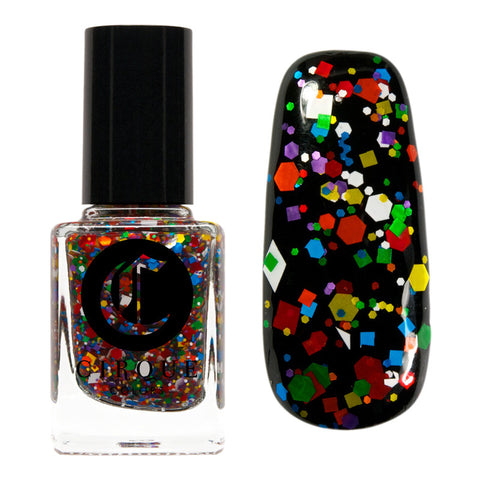 Daily Charme Nail Art Supply Nail Polish Cirque Colors / Kaleidoscope Holographic Polish