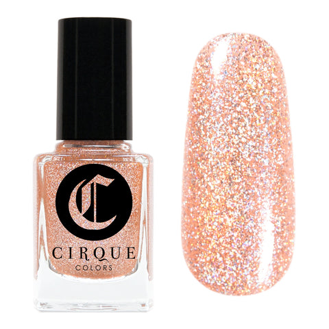 Daily Charme Nail Art Supply Cirque Colors Morganite Holiday Limited Edition Nude Holo Holographic Glitter Nail Polish
